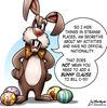 Today's cartoon: Easter bunny terror